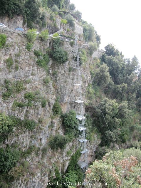 PositanoCliff
