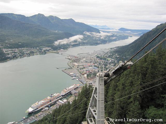 Alaska:  A Plane, a Tram and a Hike